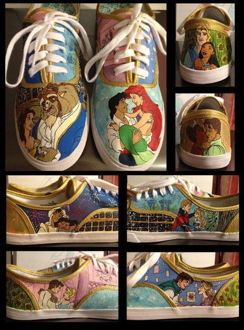 Cute shoes , but i WONT wear them ! :)