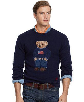 Polo Ralph Lauren Polo Bear Wool Sweater A Southern Gentleman Pinterest Wool Sweaters