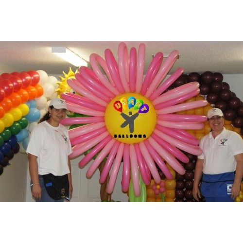 17 best images about balloon hands on classes on pinterest for Balloon decoration course