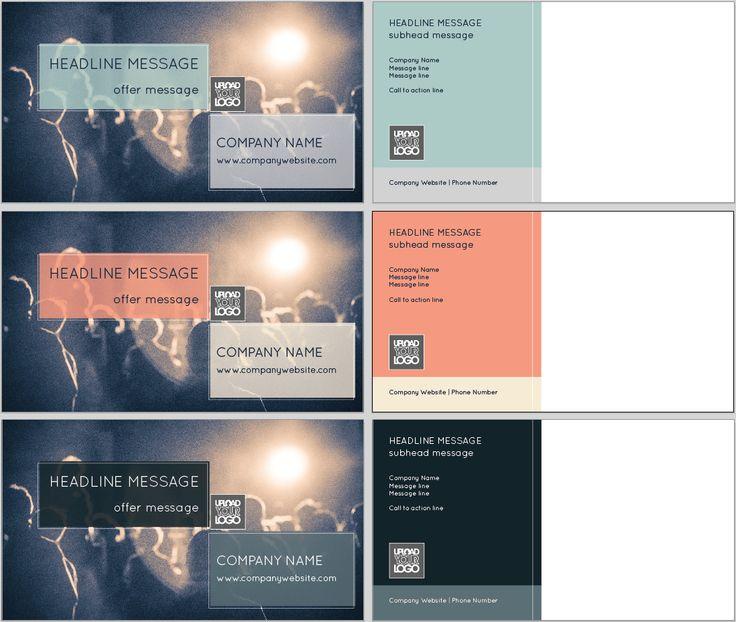 Circular Help Postcard Template  Design Tool Templates