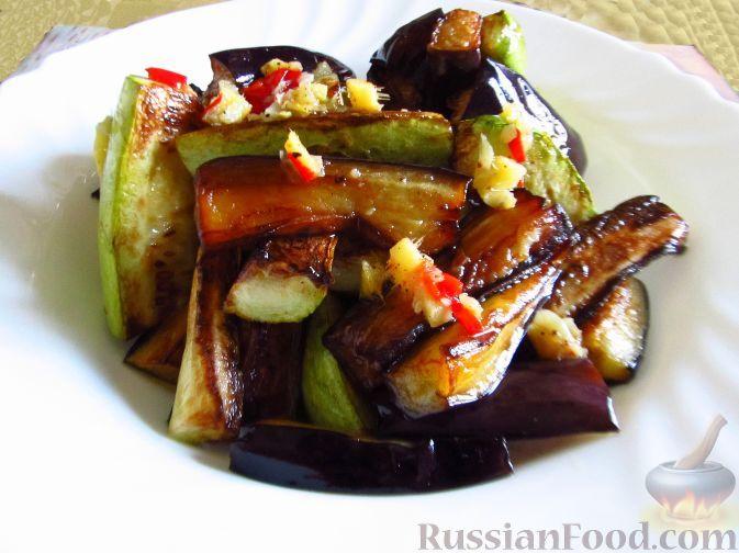 Фото приготовления рецепта: Жареные овощи по-азиатски - шаг №6