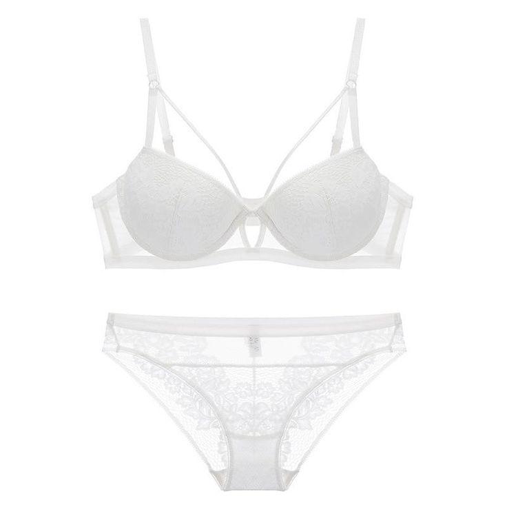 Women's Lace Underwear Set | Push Up Bra & Panties | ZORKET – corket