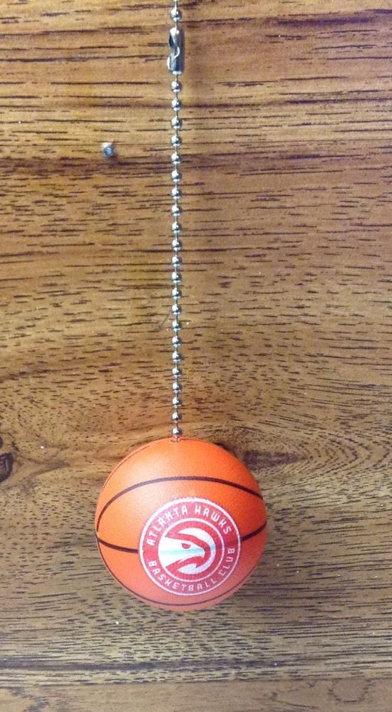 Atlanta Hawks Handmade Plastic Basketball Ceiling Fan Pull #Handmade