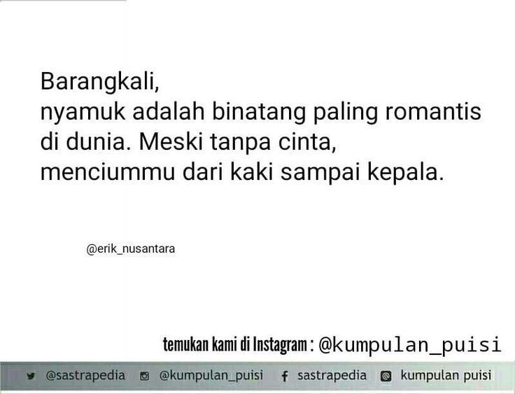 Puisi pendek. Sajak. Kumpulan puisi. Puisi Erik Nusantara.