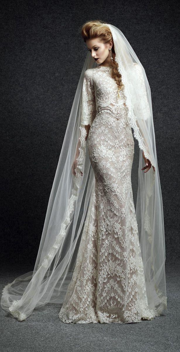 Ersa Atelier Fall 2015 Wedding Dress - Belle The Magazine