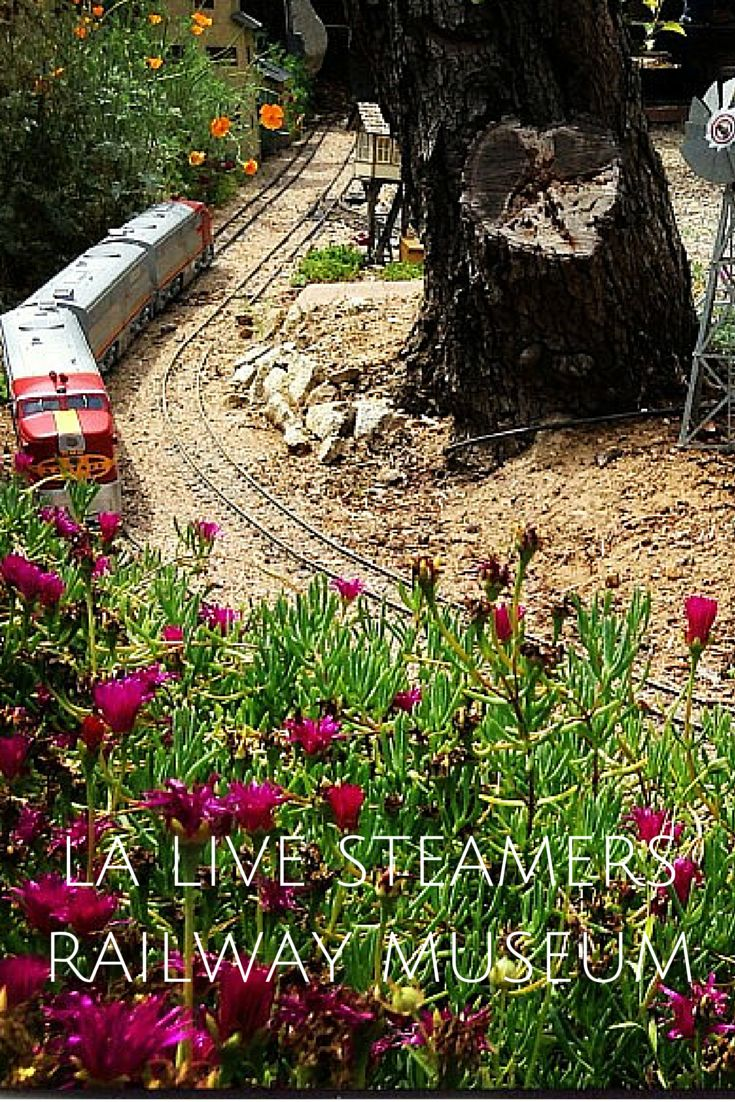 LA Live Steamers Railway Museum in Griffith Park