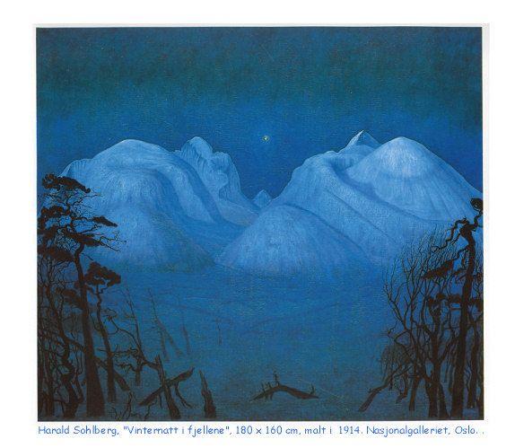 Vilternatt i Rondane av Harald Sohlberg – Venabu Fjellhotell