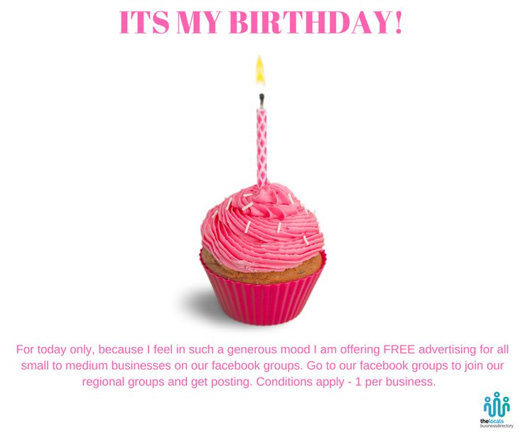 ITS MY BIRTHDAY AND I WANT TO CELEBRATE!   For today only until 11.59pm we are offering free posting on our Facebook Groups to any small to medium business based in New Zealand. You just need to get posting. Links to the groups are below...and conditions apply. Bay of Plenty https://www.facebook.com/login/?next=https%3A%2F%2Fwww.facebook.com%2Fgroups%2Fthelocalsbusinessdirectory%2F%3Futm_content%3Dbuffer4d413%26utm_medium%3Dsocial%26utm_source%3Dfacebook.com%26utm_campaign%3Dbuffer Hawkes…