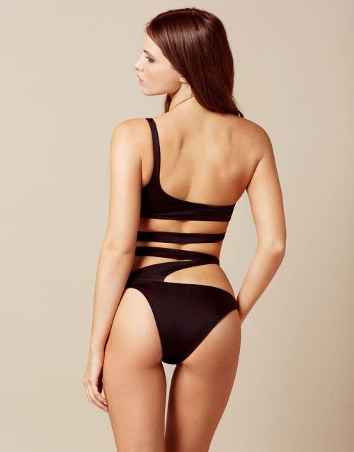 3a940a2492 Lexxi Black Bikini Bottom