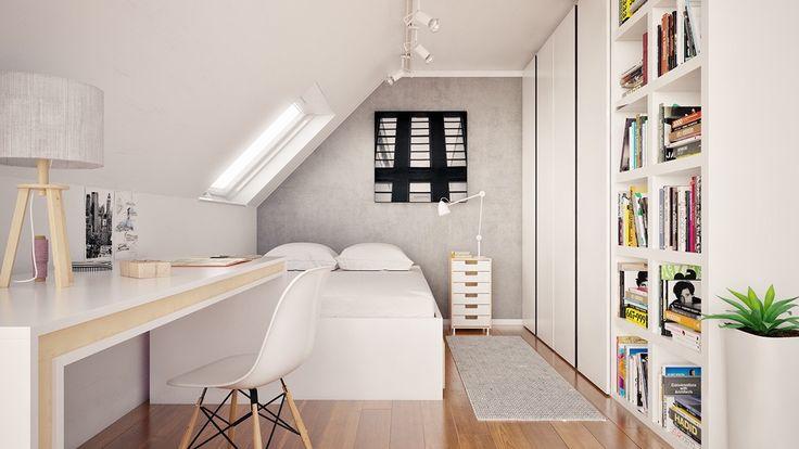 Ces combles ont été transformés en de magnifiques chambre à coucher ! De quoi donner des idées...