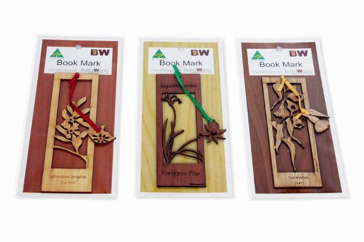 Handmade Bookmarks (Set of 3)