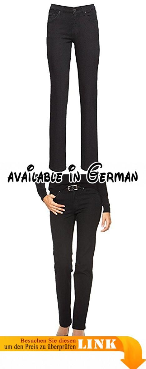 "Angels Damen Jeans ""Dolly 74"" black (85) 46/32. Material: 85% Baumwolle, 13% Polyester, 2% Elasthan. Teile tierischen Ursprungs: Nein #Apparel #PANTS"