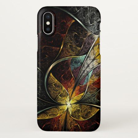 Colorful Artistic Fractal Zazzle iPhone X Case - click to get yours right now!