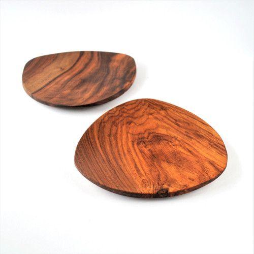Dřevěný talíř Triangle