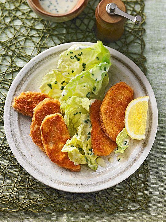 vegetarische Sellerieschnitzel