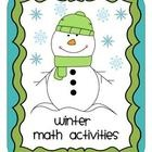 Winter Themed Math Fun Activities and Games, 3rd Grade Com  $6.00Grade Math, Math Charts Acting, Cores Math, Fun Activities, Division Lessons, Common Cores, Activities Sheet, Include, 3Rd Grade