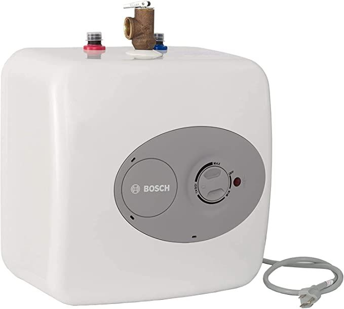 Bosch Electric Mini Tank Water Heater Tronic 3000 T 4 Gallon Es4 Eliminate Time For Hot Water Sh In 2020 Water Heater Tankless Water Heater Electric Water Heater