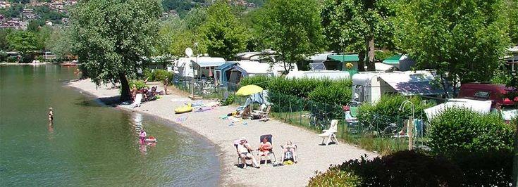 Porlezza Italië, camping Darna (mooie jeugdherinneringen)
