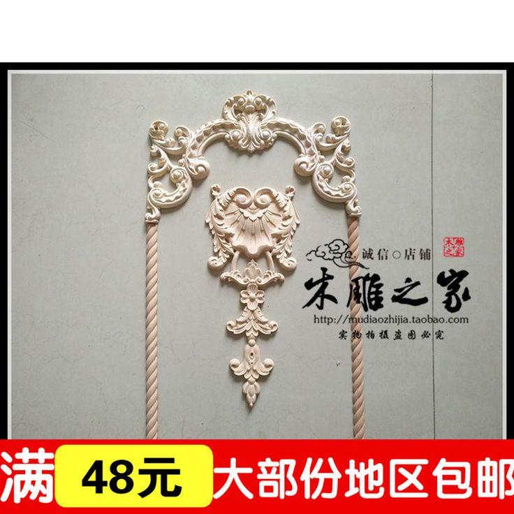 Специальное предложение Европейский цветочный узор стены цветок деревянная дверь жгут аппликация цветок мебель шкаф цветка Dongyang woodcarv купить на AliExpress