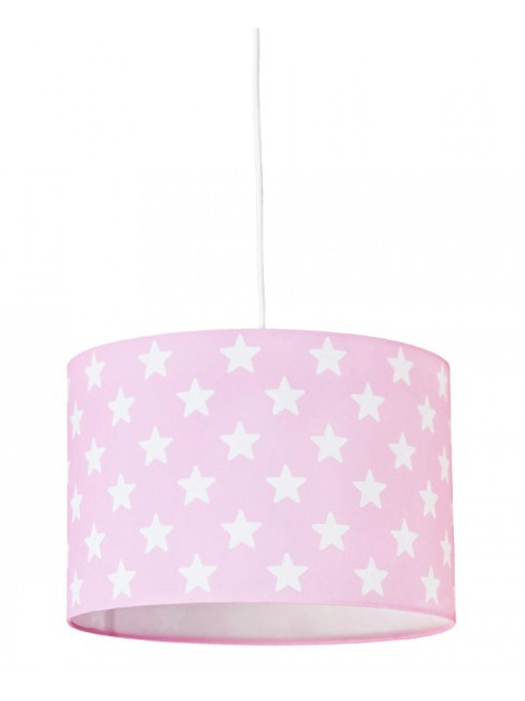 Pink Star Lamp - Lampada Soffitto Rosa Stelline Star