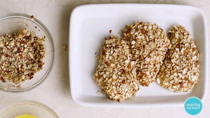 Easy Almond-Crusted Chicken - Martha Stewart