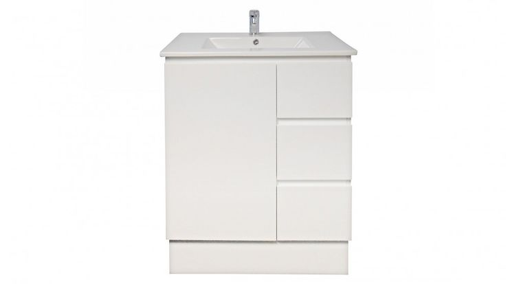 Ledin Jane 750mm Full Depth Ceramic Top Right Hand Drawer - Vanities & Basins - Bathroom, Tiles & Renovations | Harvey Norman Australia