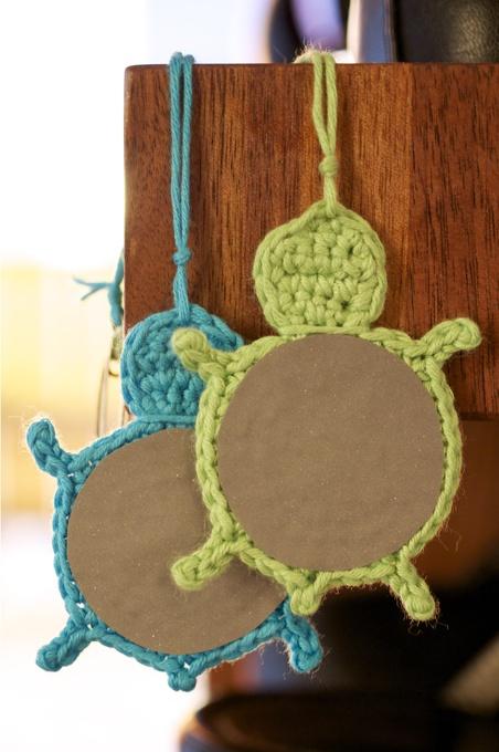 Tyttö kylmän maan: DIY: kilpikonnaheijastin