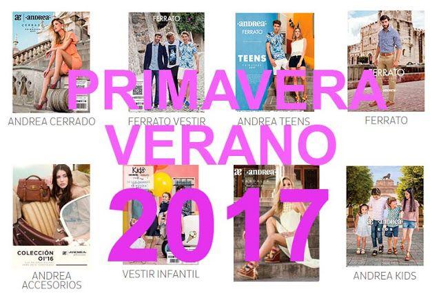 todos los catalogos andrea | catalogos Andrea 2017 - 2018