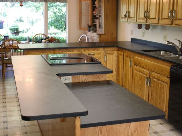 how to keep a black granit counter clean