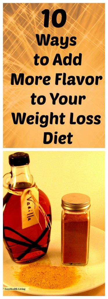 10 Easy Ways to Add More Flavor to Your Low Calorie Diet