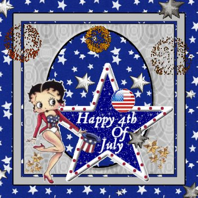 betty boop july 4th graphics
