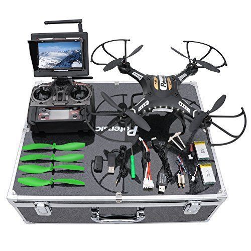 Drone with HD Camera Altitude Hold UFO with Newest Hover Function Carrying Case #DronewithHDCamera
