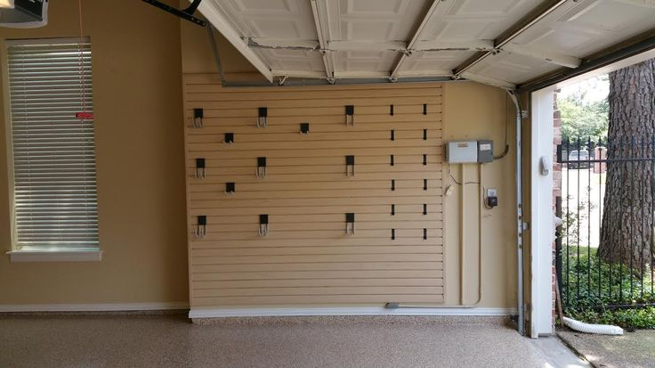 Custom Slat Wall From Monkey Bar Storage Perfect Pair For