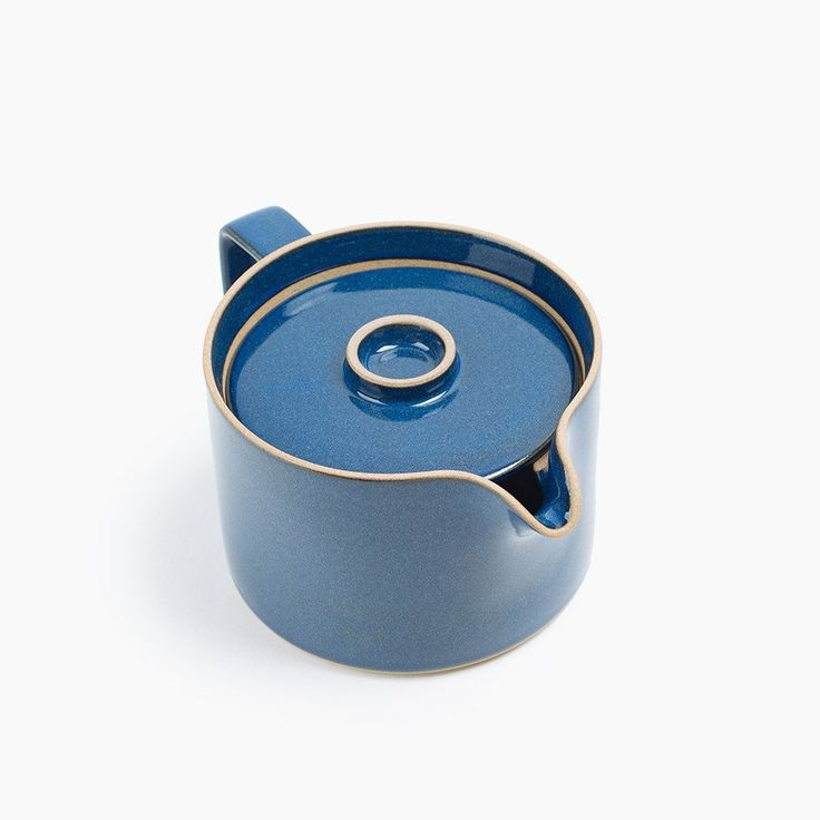 Hasami Porcelain Teapot in Cobalt