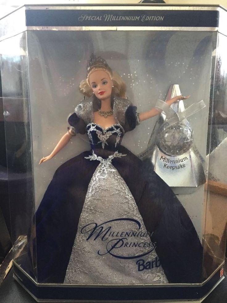 MILLENNIUM PRINCESS BARBIE DOLL Authentic SPECIAL MILLENIUM EDITION 1999  *NEW* #Mattel #DollswithClothingAccessories
