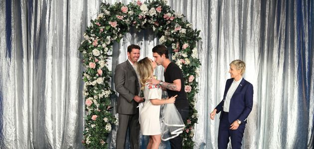 Kaley Cuoco & Fiance Ryan Sweeting: Fake Wedding on 'Ellen' [VIDEO]