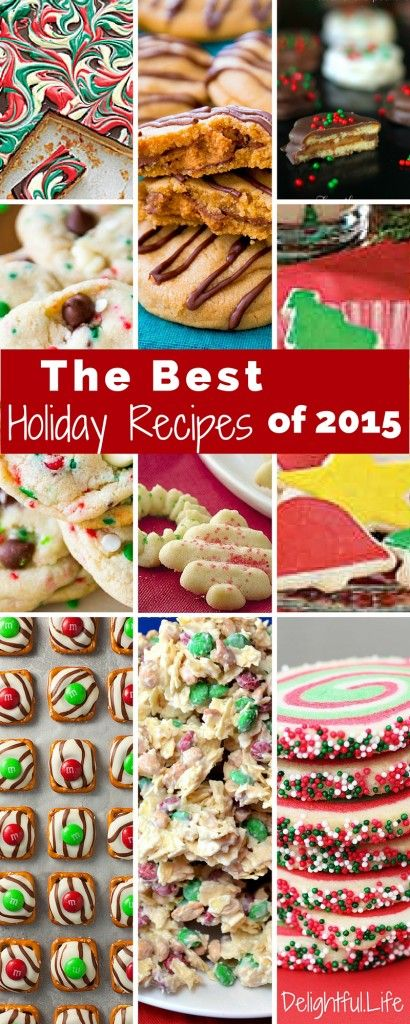 Every Christmas my family gets together for 14+ hours of baking. Some desserts are staples, but we also add new recipes each year. We're sharing what made the cut this year!