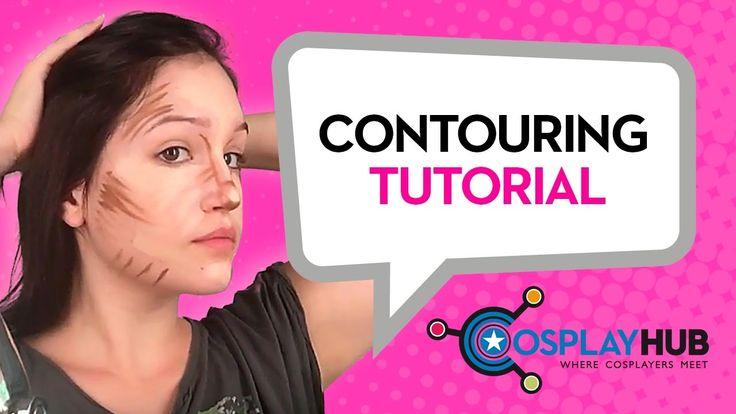 Contouring Make Up Tutorial by Sara Rouge Cosplay, www.cosplayhub.com #contouringtutorial #tutorialmakeup #tutorial #makeup #cosplayhub #cosplay #SaraRougeCosplay #basicmakeup