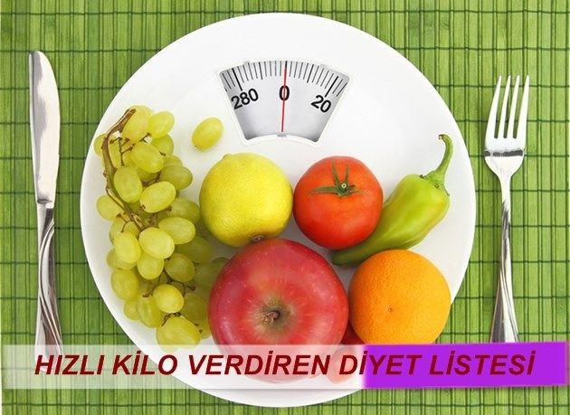 Kilo Verdiren Diyet Listesi-Gürkan Kubilay