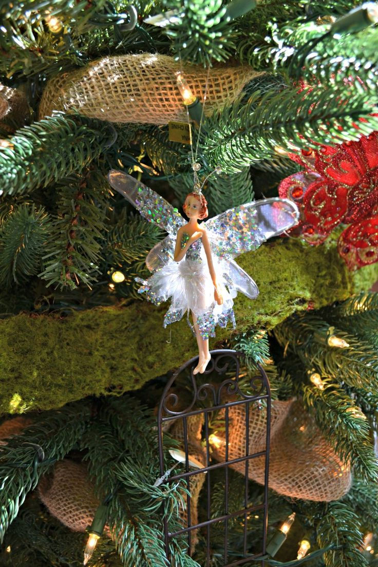 33 best Garden Theme Christmas Tree images on Pinterest ...