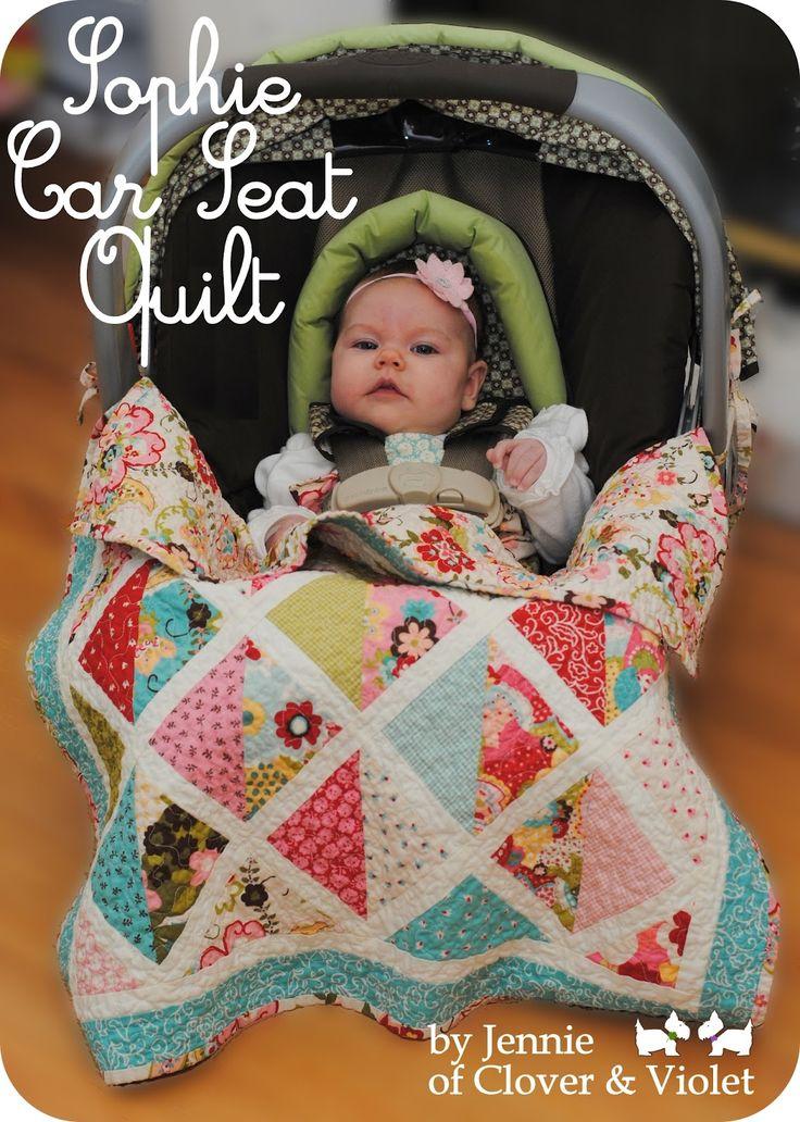 Sophie Car Seat Quilt