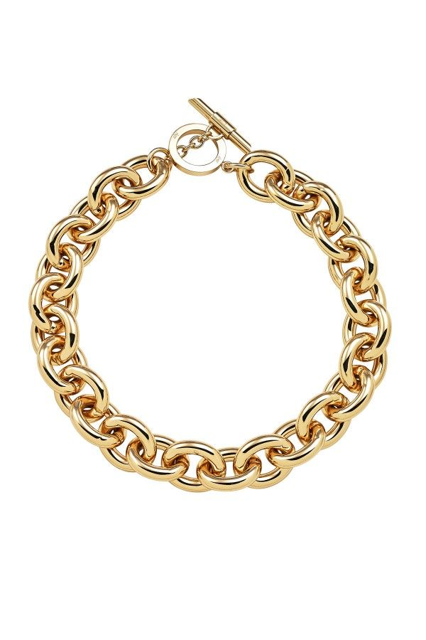 Chunky Gold Necklace - Jewellery - Accessories | Amanda Wakeley