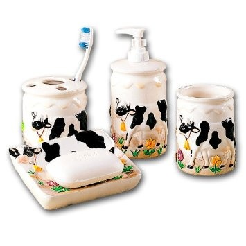Cow Bathroom Bath Set 17 Best Images About Moo On Pinterest Cookie Pops Print
