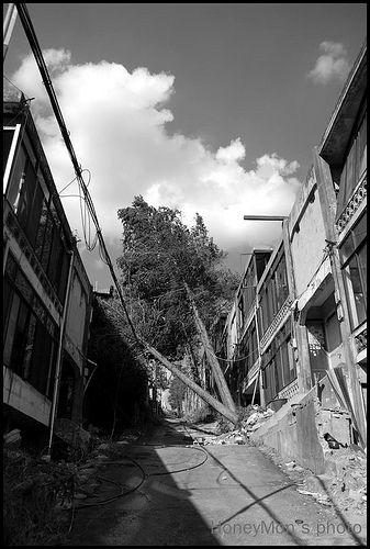 사람들이 떠난 주택단지의 풍.. / 2010 10 09 /