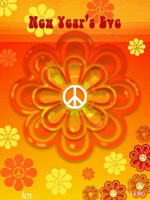 New Year's Eve Peace. Peace Artist Kathy Nail.