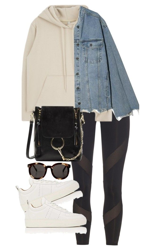 """""""Untitled #4785"""" by theeuropeancloset on Polyvore featuring adidas, Helmut Lang and Monki"""