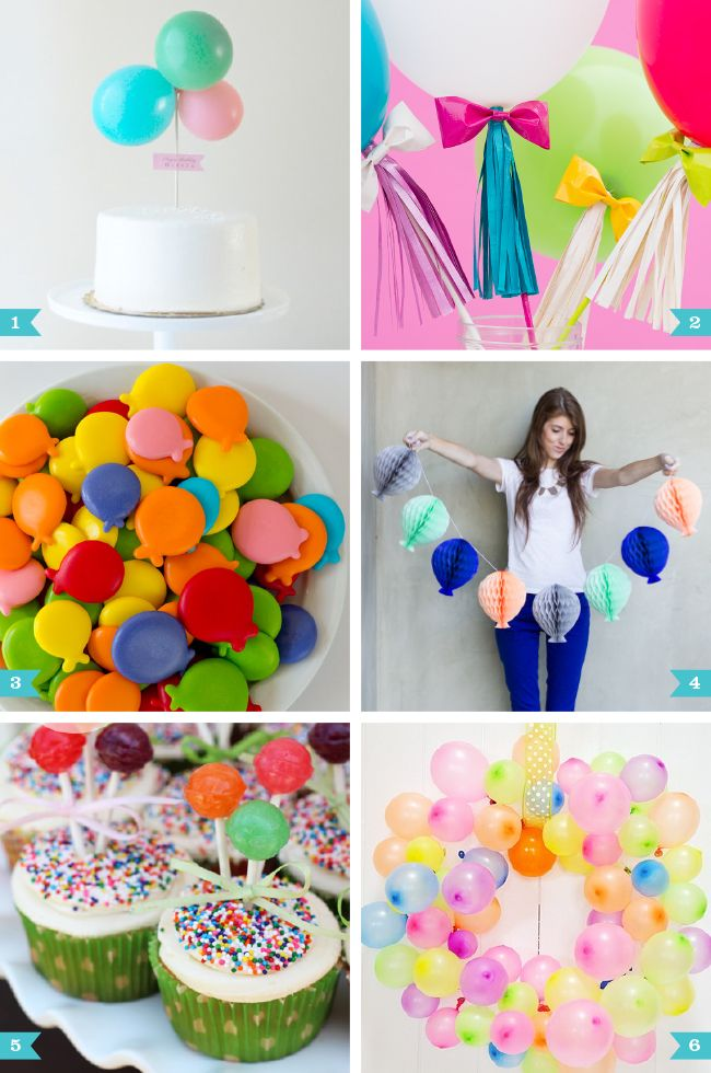 Birthday Themes With Balloons Image Inspiration of Cake and