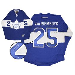 Van Riemsdyk,J Signed Jersey Replica Leafs Centennial Game Blue