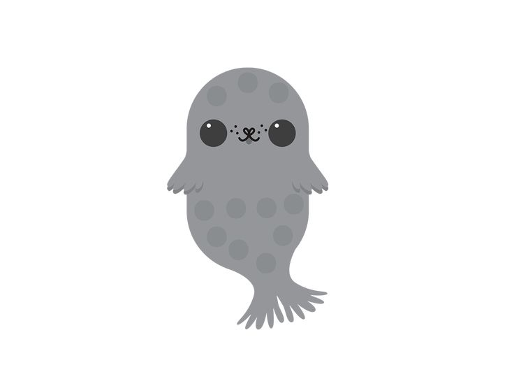 Finland Emojis: Saimaa Ringed Seal