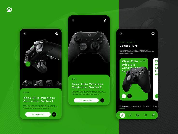 Xbox store app – Product page by Dmitry Kiiashko  – My Best works